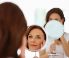 photo-woman looking in mirror6224718_s